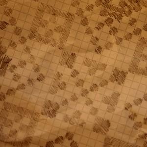 Detalj av mønsteret, om lag slik mormor teikna det av.