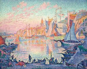 Paul Signac : Frå hamne i St.Tropez