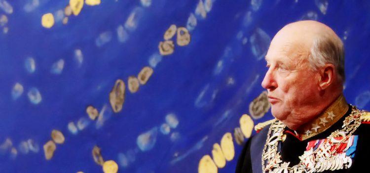 Kong  Harald  sin  tale  –  ord  ein  konge  verdig