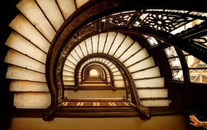 The Oriel Staircase. Foto : (C) Chris Smith