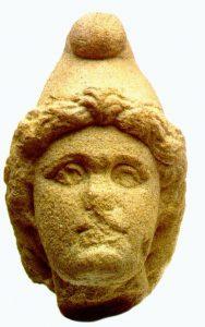 Hovud av guden Mithra, funne i Sindelfingen, Tyskland. (C) Wikipedia