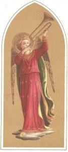 Italiensk julekort, frå 1893