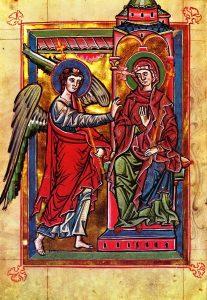 Maria og engelen Gabriel